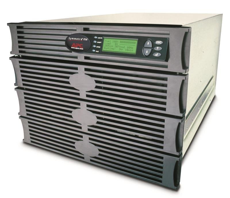 APC Symmetra RM 2kVA Scalable to 6kVA N+1 Power Array