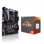 Asus AMD ROG STRIX X370-F Motherboard and AMD Ryzen 7 1700 Processor Bundle