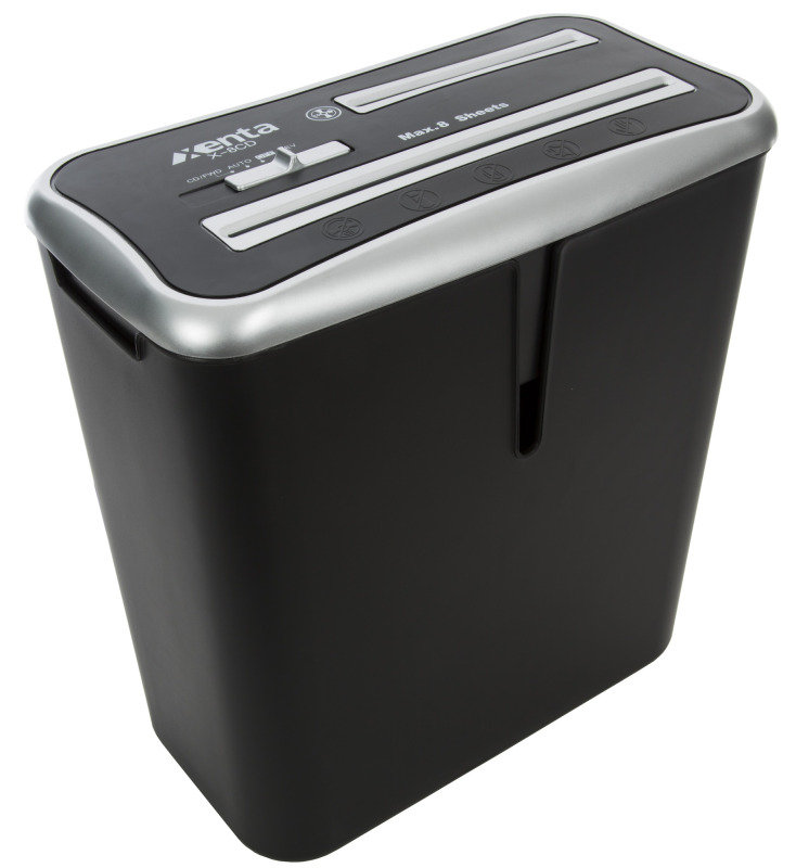 13 Litre 8 Sheet Cross Cut Shredder with CD/Credit Card Slot
