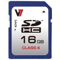 V7 SD CARD 16GB SDHC CLASS 4 - VASDH16GCL4R-2E