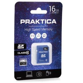 PRAKTICA 16GB SDHC Memory Card - Class 10
