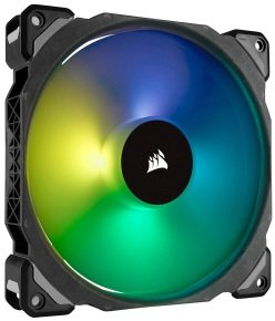 Corsair ML140 PRO RGB LED 140MM PWM Premium Magnetic Levitation Fan Single Pack