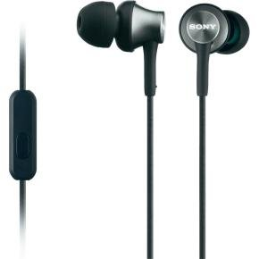 Sony In Ear Headphones Black - 1.2m Cord