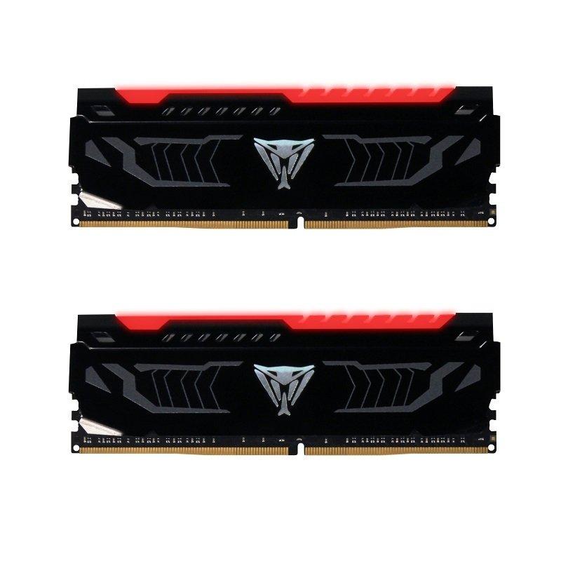 Patriot VIPER LED RED 16GB 2400Mhz KIT