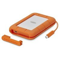 Lacie STFS500400 500GB Rugged Thunderbolt USB-C Ext SSD