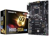 EXDISPLAY Gigabyte Intel H110-D3A Socket 1151 ATX Mining Motherboard