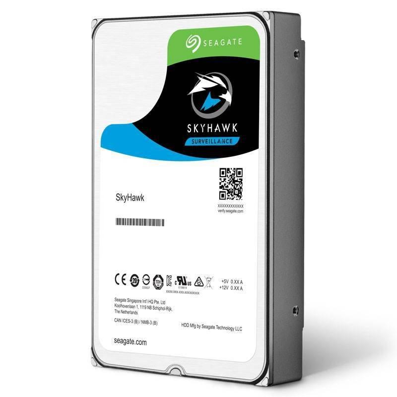 "Image of Seagate SkyHawk 4TB Surveillance Hard Drive 3.5"" SATA III 6GB's 5900RPM 64MB Cache"