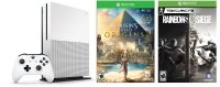Microsoft Xbox One S 1TB Console with Assassin's Creed Origins & Rainbow Six Siege