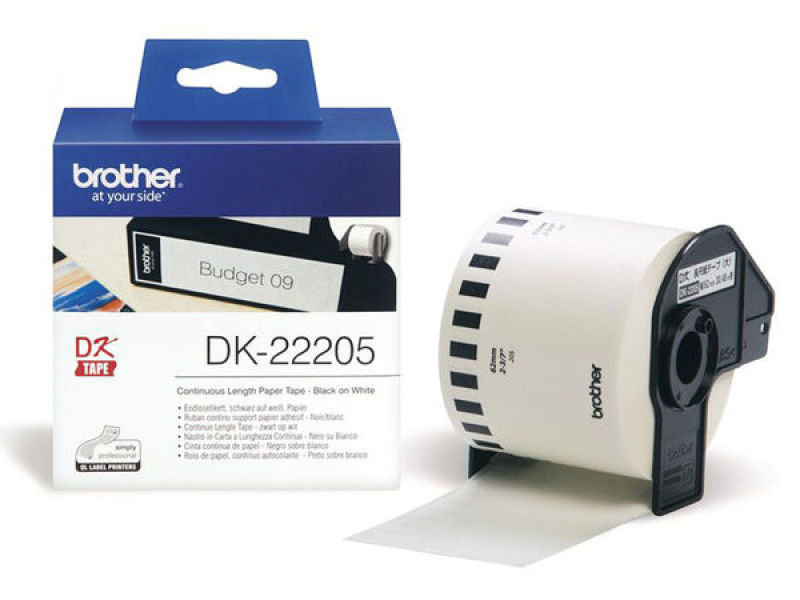 Brother DK22205 Continuous Labels