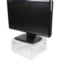 NewStar LCD/CRT monitor riser [acrylic] NSMONITOR40