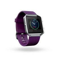 Fitbit Blaze Bluetooth Fitness Activity Tracker Watch, Small, Plum
