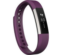 Fitbit Alta Wireless Activity and Sleep Tracking Smart Fitness Watch, Large, Plum