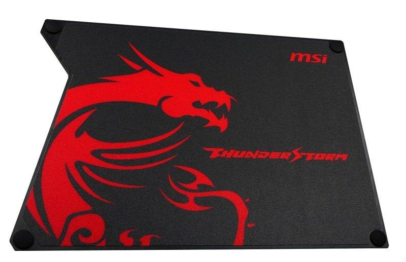 MSI Thunderstorm Aluminum GAMING Mouse Pad