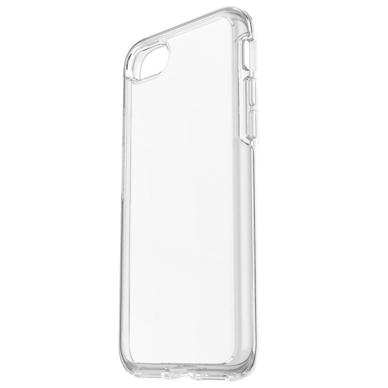 OtterBox Symmetry Series Apple iPhone 7 - Back cover for mobile phone - polycarbonate, synthetic rubber - clear crystal - for Apple iPhone 7