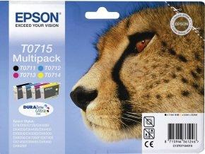 Epson T0715 Multi-pack Colour Ink Cartridges