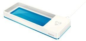 Leitz WOW Desk Organizer Wireless Charging - Blue
