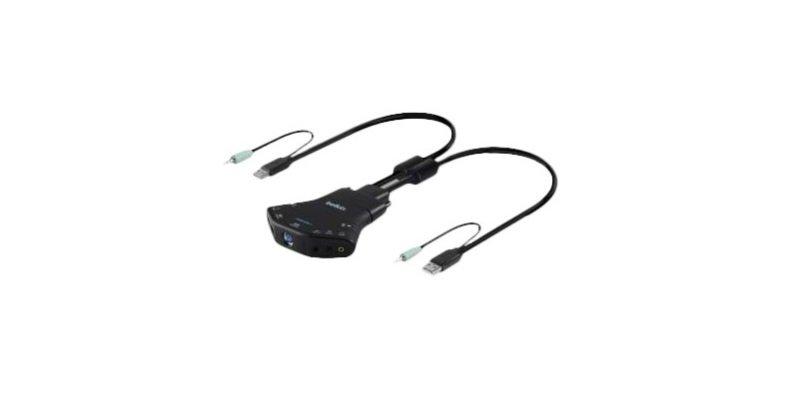 Belkin Secure Flip 2-port KM Switch