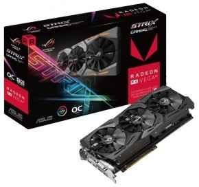 Asus ROG Strix RX VEGA 64 OC edition 8GB HBM2 Graphics Card