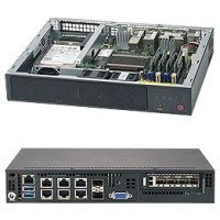 Supermicro SuperServer E300-9A Mini-1U Atom C3858 Rack Server