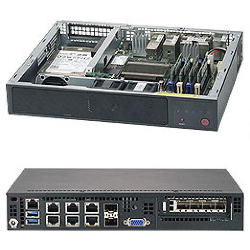 Supermicro SuperServer E300-9A Mini-1U Atom C3858 Rack Server