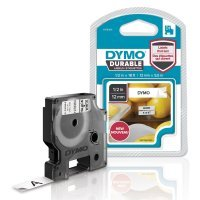 Dymo D1 Labelling Tape Black on White 12mmx3m 1978364