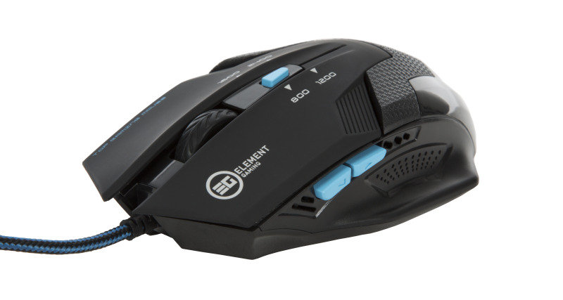 EG Illuminated Mouse with Adjustable DPI