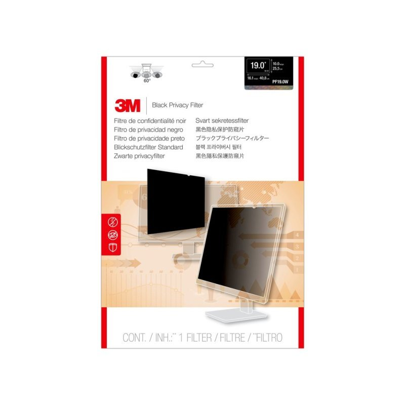 """Image of 3M Privacy Filter for 19"""" Widescreen Monitor"""