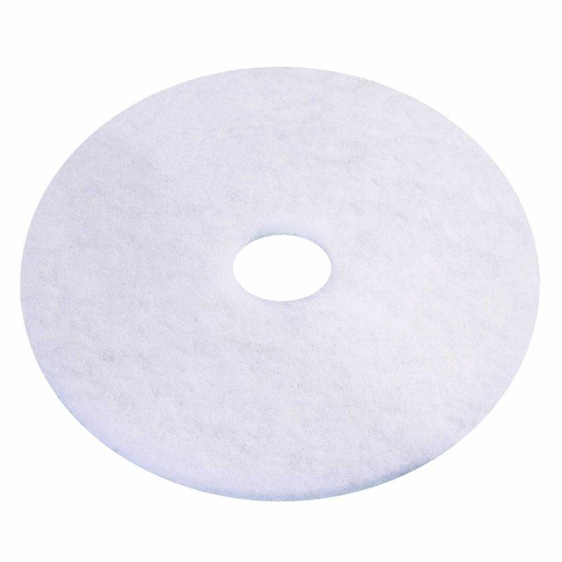 3M Economy 430mm White Floor Pads (Pack of 5) 2ndWH17