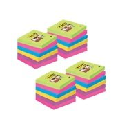 Post-it Super-Sticky 76x76mm Assorted Value Notes (Pack of 24) 654-SS-VP24COL-EU