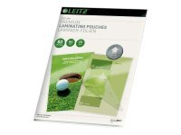 Leitz - 25 pack - glossy, Crystal Clear - A4 (210 x 297 mm) lamination pouches