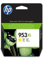 HP 953XL Yellow Original Ink Cartridge - High Yield 1600 Pages - F6U18AE