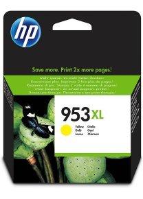 HP 953XL High Yield Yellow Ink Cartridge - F6U18AE
