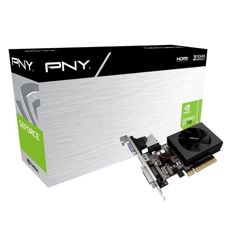 PNY GeForce GT 730 2GB DDR3 Graphics Card