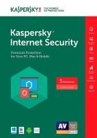 Kaspersky Internet Security 2018 5 Devices 1 Year (Box)