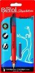 Berol Handwriting Fountain Pen With Medium Nib Blue