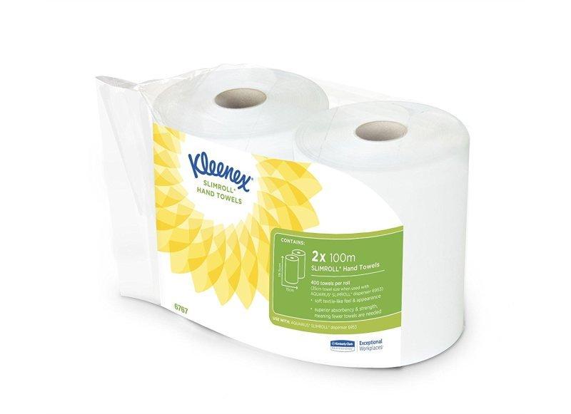 Kleenex Hand Towels White 6767 Pk6