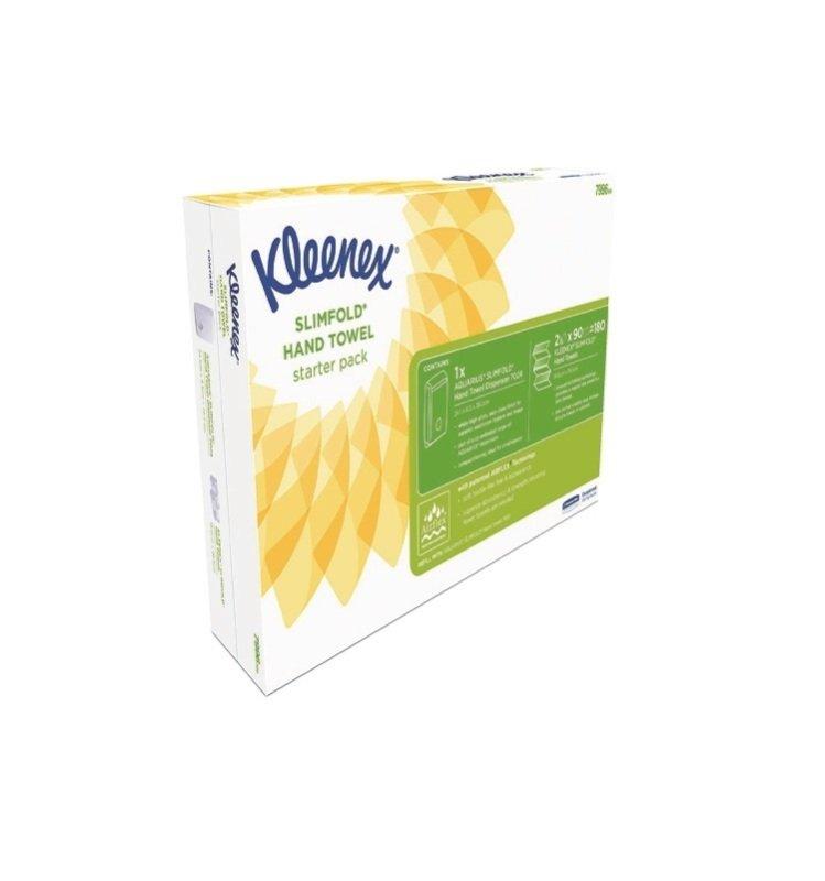 Kleenex Slim Starter Pack-  White -  7996