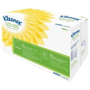 Kleenex Ultra Jumbo Toilet Roll Starter Pack 7994