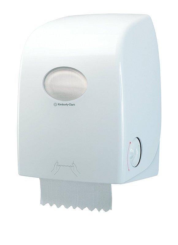 Image of Aquarius Rolled Hand Towel Dispenser White 6959