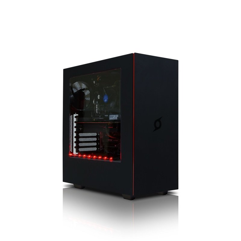NZXT H440 New Edition Matte Black PC Case with Side Window