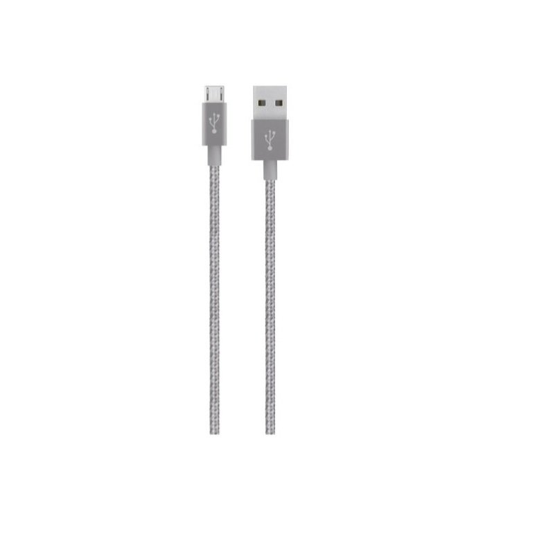 Belkin Micro-USB to USB Grey Cable- 4-foot