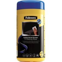 Fellowes 100 Antibacterial Surface Cleaning Wipes