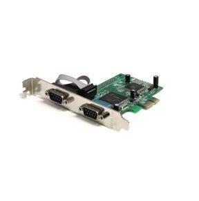 StarTech 2 Port PCI Express RS232 Serial Adapter Card