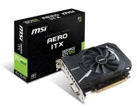 MSI GeForce GTX 1050 Aero OC 2GB GDDR5 Graphics Card