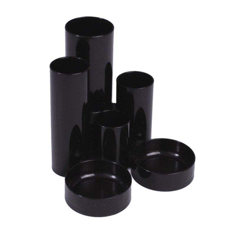 Value Deflecto Tube Tidy - Black