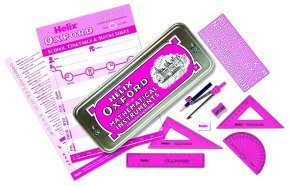 Helix Oxford Limited Edition Colours Maths Set Pink