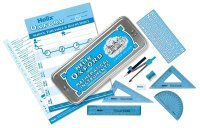 Helix Oxford Limited Edition Colours Maths Set -  Blue
