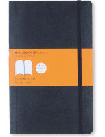 Moleskine Notebook Soft Cover Large 130x210mm Ruled Black QP616