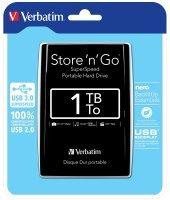 Verbatim 1TB Store'n'Go USB 3.0 Portable Hard Drive