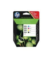 HP 934xl High Yield Multi-Pack Ink Cartridge - X4E14AE